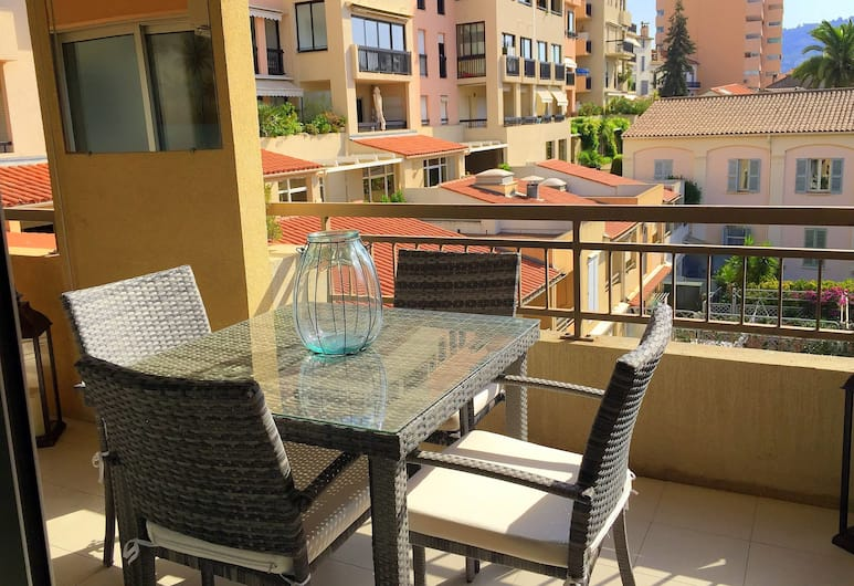 Residence Coeur de Cannes City, Cannes, Superior-huoneisto, 1 makuuhuone, Parveke