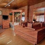 Habitación Deluxe, 1 cama Queen size, vista al lago (César et Cléopâtre) - Sala de estar