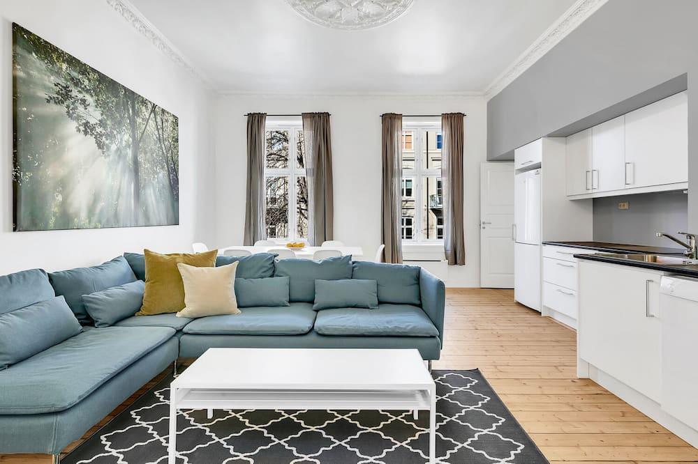 Three-Bedroom Apartment For Six - Powierzchnia mieszkalna