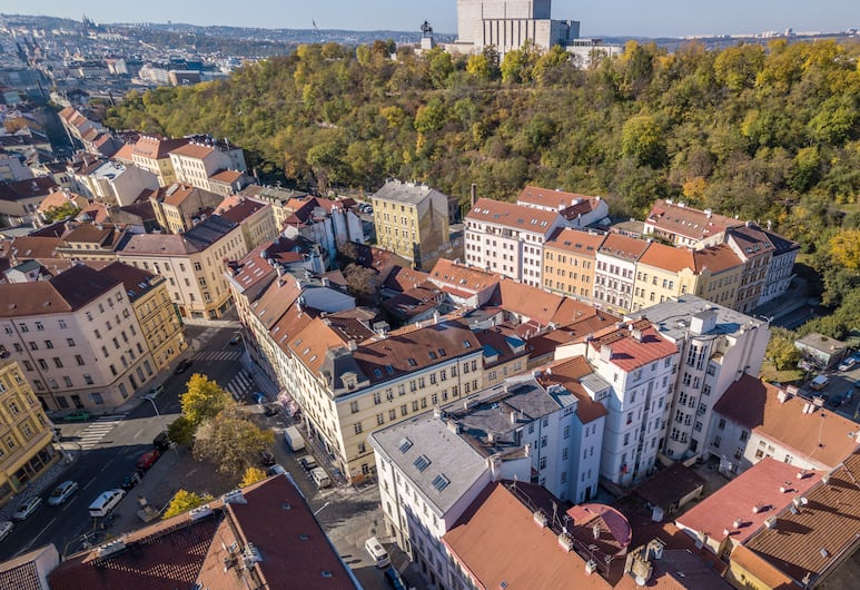 DownTown Suites Chlumova, Prague, View from property