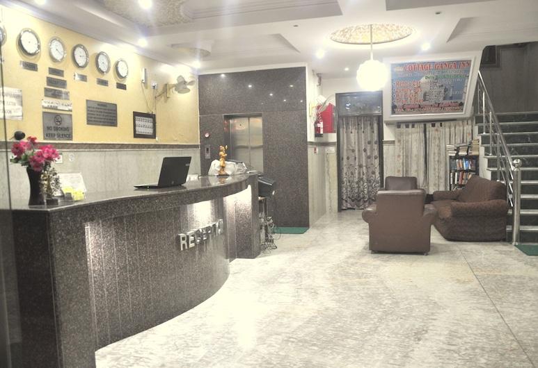 Cottage Ganga Inn, Yeni Delhi, Resepsiyon