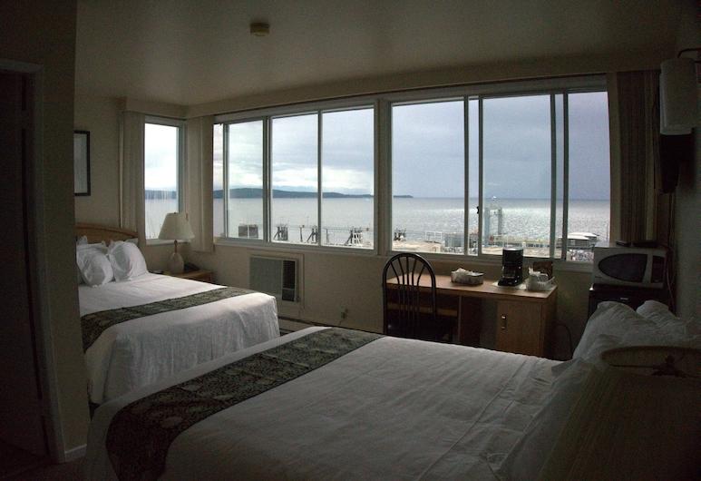Marine Inn, Sungai Powell, Ocean View Queen Queen, Kamar Tamu