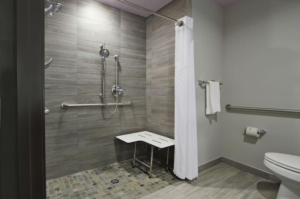 Standardní pokoj, dvojlůžko (200 cm), bezbariérový přístup (Comm) - Koupelna