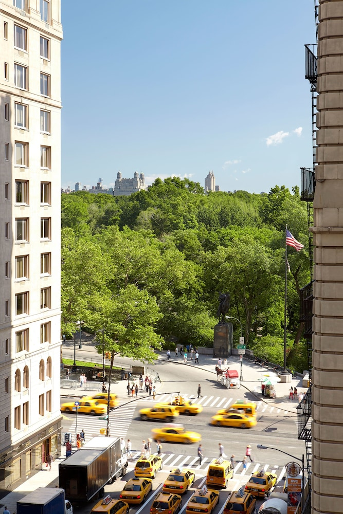 1 Hotel Central Park New York View From