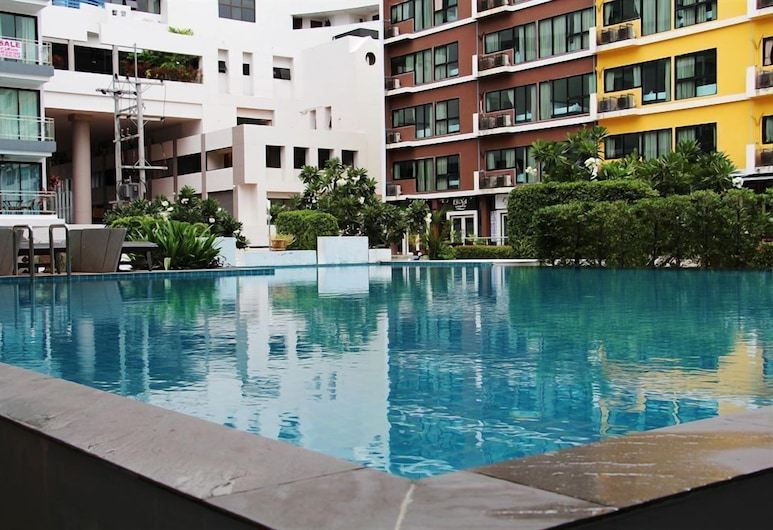 Jomtien Good Luck Apartment, Pattaya, Hotel Front