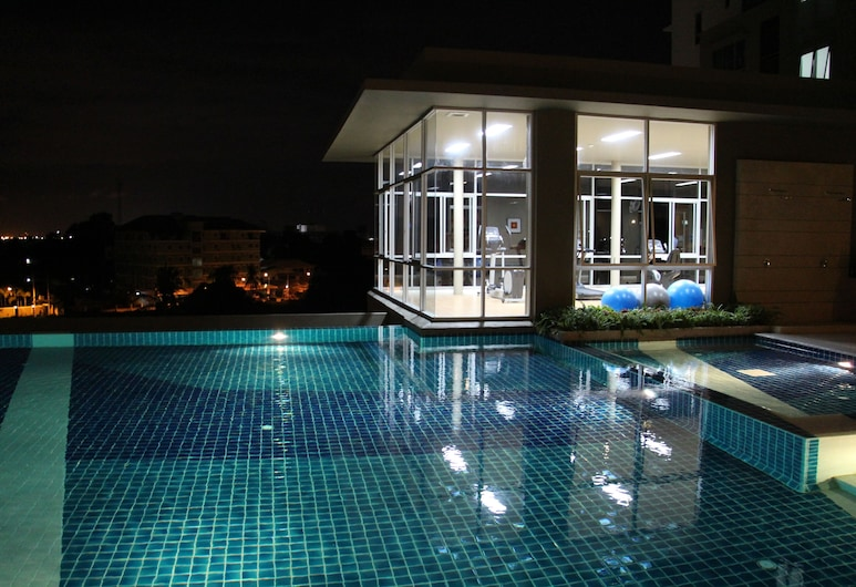 Lumpini Ville Naklua Good Luck, Pattaya, Outdoor Pool
