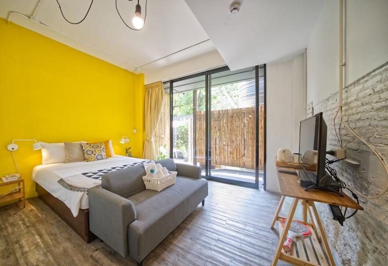 Yim Bangkok Hostel, Bangkok, Superior Queen Room, Uitzicht vanaf kamer