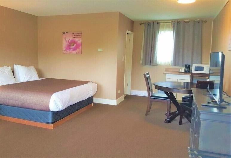 Ukee Peninsula Motel, Юклулет, Стандартний номер, 1 ліжко «кінг-сайз» та розкладний диван, Житлова площа
