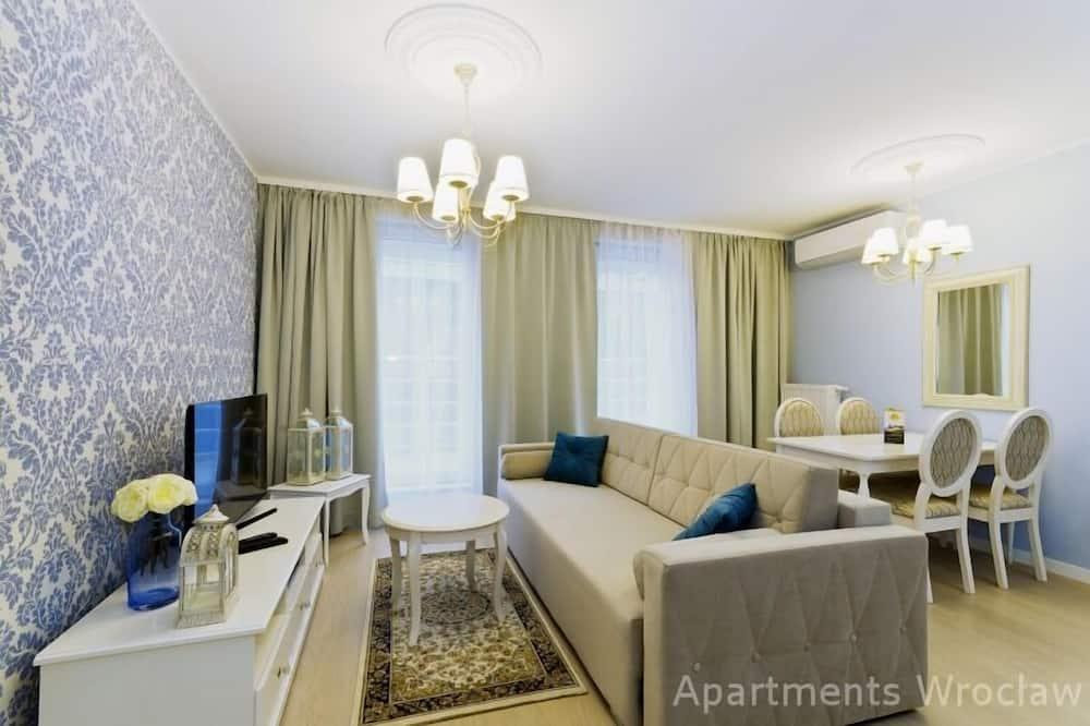Presidential Apartment (55m2) - Living Room