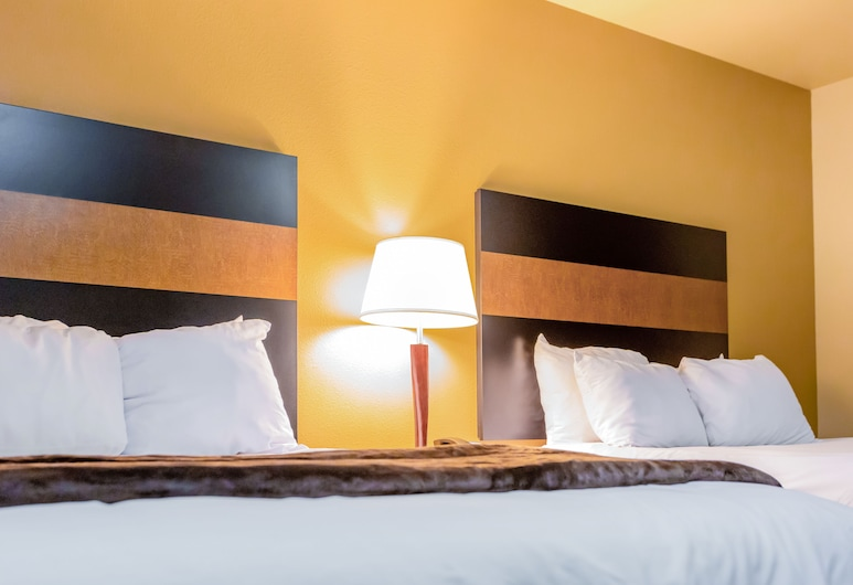My Place Hotel-Minot, ND, Minot, Kambarys, 2 standartinės dvigulės lovos, Svečių kambarys