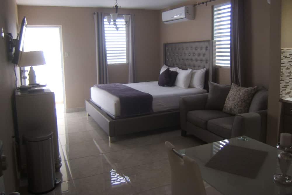 Svit Comfort - 1 kingsize-säng - utsikt mot havsviken - Balkong