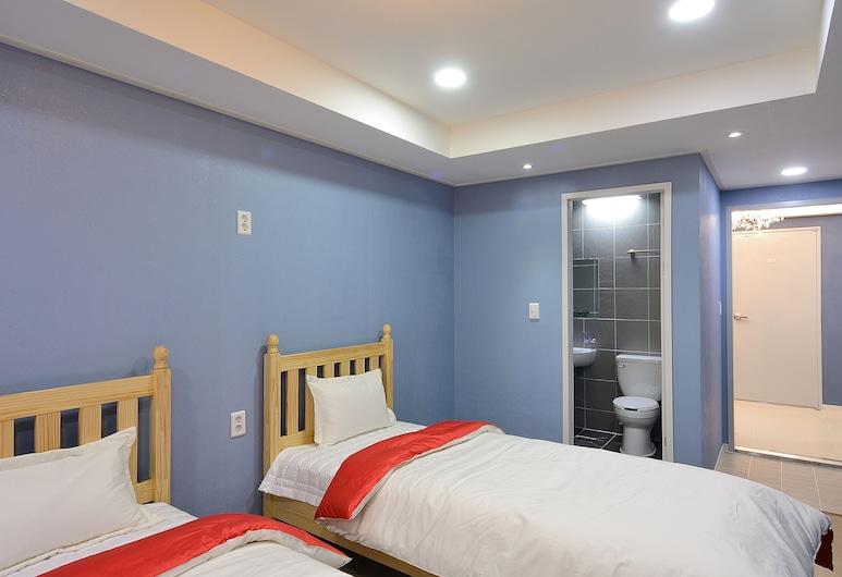 紅色旅館, 首爾, 雙人房, 2 張單人床, 客房