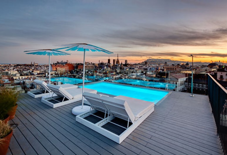 Yurbban Trafalgar Hotel, Barcelona, Außenpool