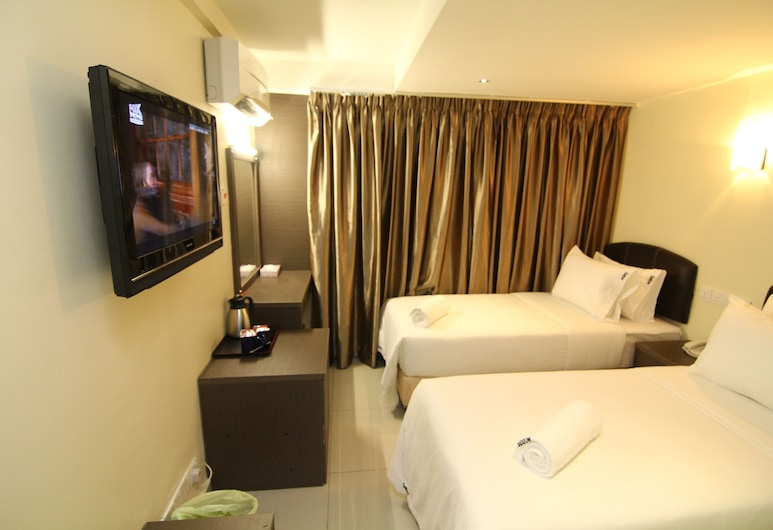 サンバウ ホテル レジデンシー, クアラルンプール, スタンダード ツインルーム シングルベッド 2 台 窓なし, 部屋