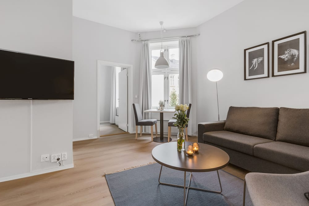 One-Bedroom Apartment For Two - Salon