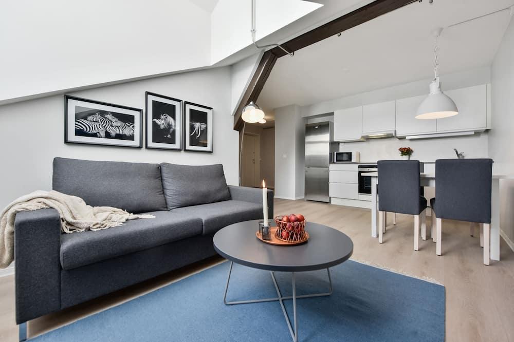 Two-Bedroom Apartment For Three - Zdjęcie opisywane