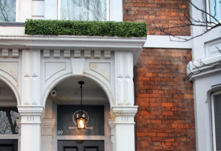 91 Aparthotel Jesmond Road, Newcastle-upon-Tyne, Wejście do obiektu
