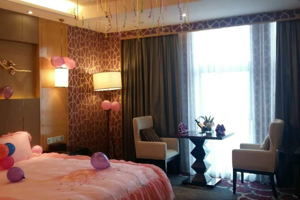 Chambre Affaires, 1 très grand lit - Salle de bain
