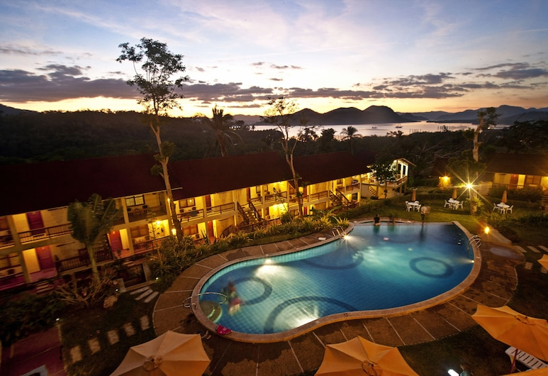 Asia Grand View Hotel, Coron, Vonkajší bazén