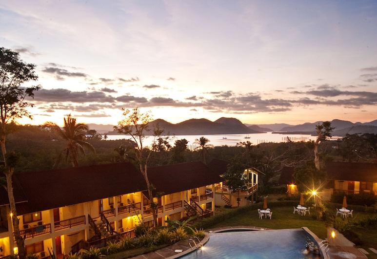Asia Grand View Hotel, Coron, Vista Aérea