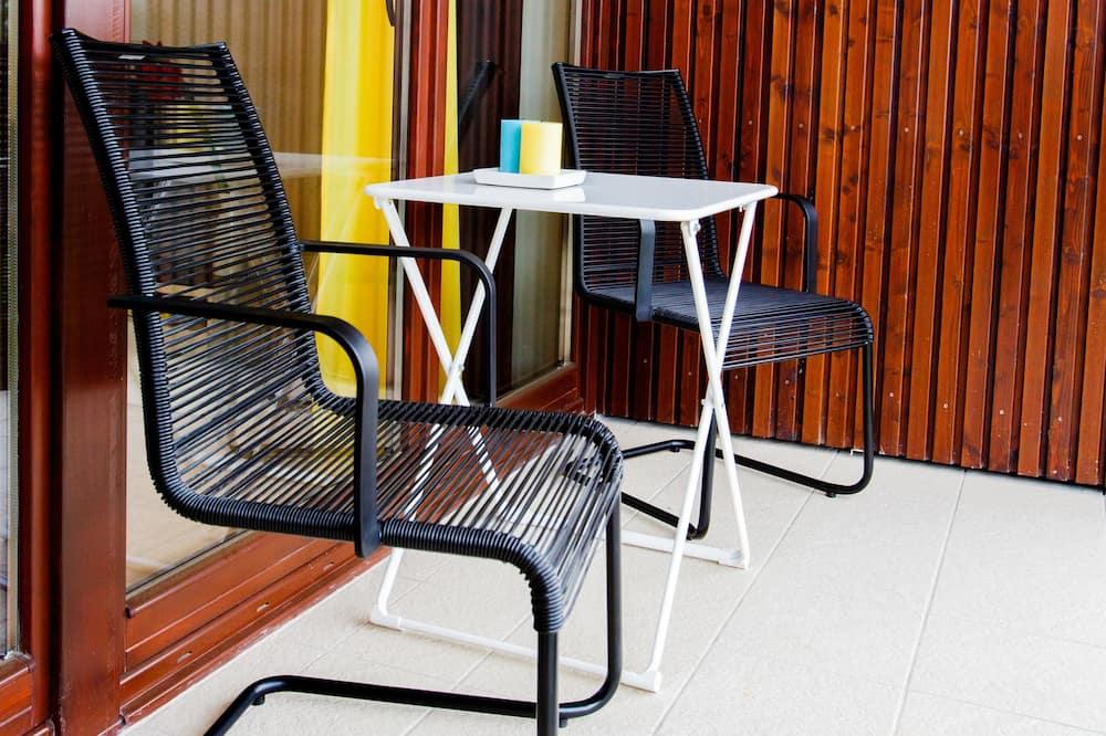 Apartamentai, 1 miegamasis (Lemon) - Balkonas