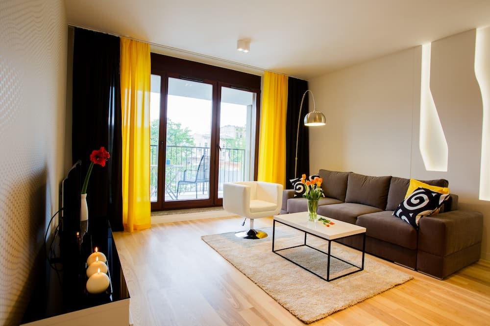 Apartament, 1 sypialnia (Lemon) - Powierzchnia mieszkalna