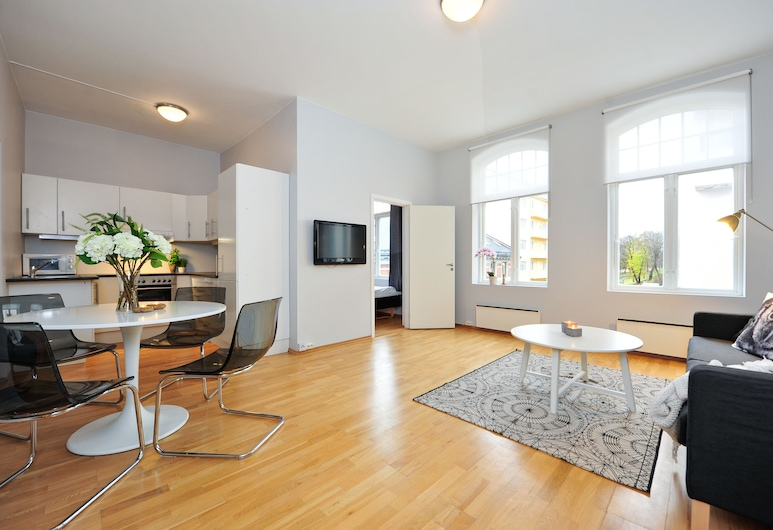 Forenom Serviced Apartments Royal Park, Oslo, One-Bedroom Apartment For Four, Stue