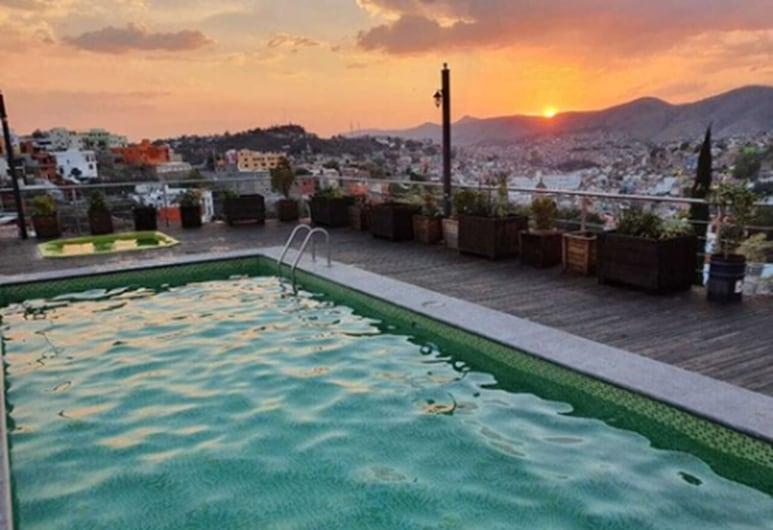 HOTEL 1988 GUANAJUATO, Guanajuato, Quarto Duplo Superior, Vista para a Cidade