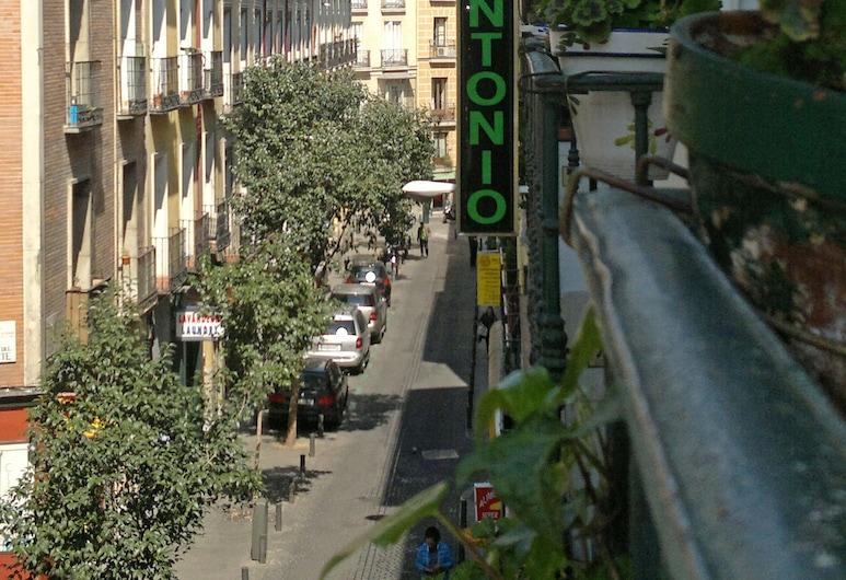 Hostal San Antonio, Madrid, Fachada del hotel
