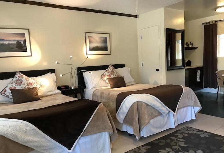 Alpenrose Inn, South Lake Tahoe, Signature Δωμάτιο, 2 Διπλά Κρεβάτια (Wet Bar), Δωμάτιο επισκεπτών
