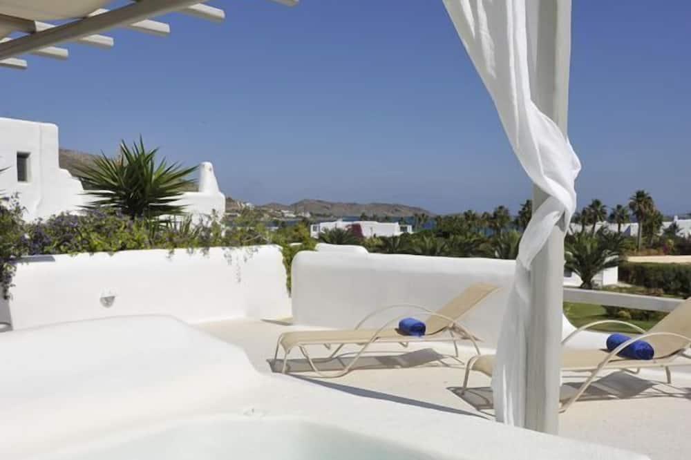 Villa ejecutiva, bañera de hidromasaje, vista al mar - Terraza o patio