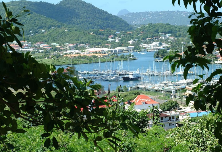 Stephanie's Hotel, Gros Islet, View from Hotel