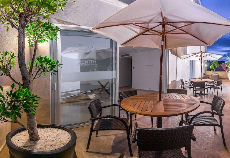 Hotel Zenith, Tehuacán, Terraza o patio