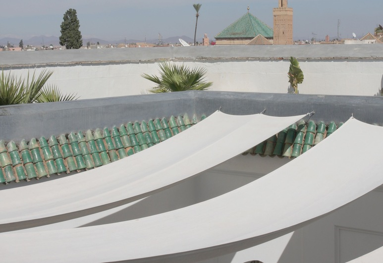 Dar Seven, Marrakech, Vista a partir do Hotel