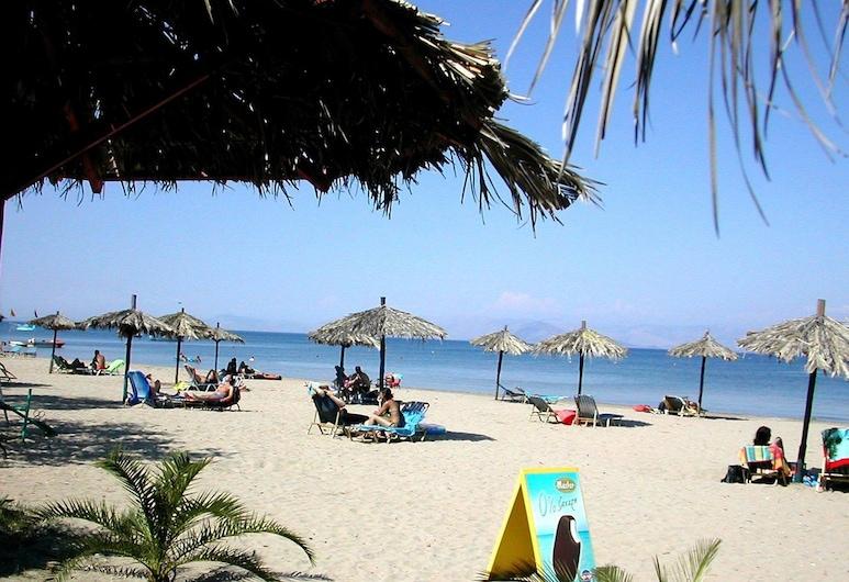 甜蜜美夢酒店, 科孚島, 海灘