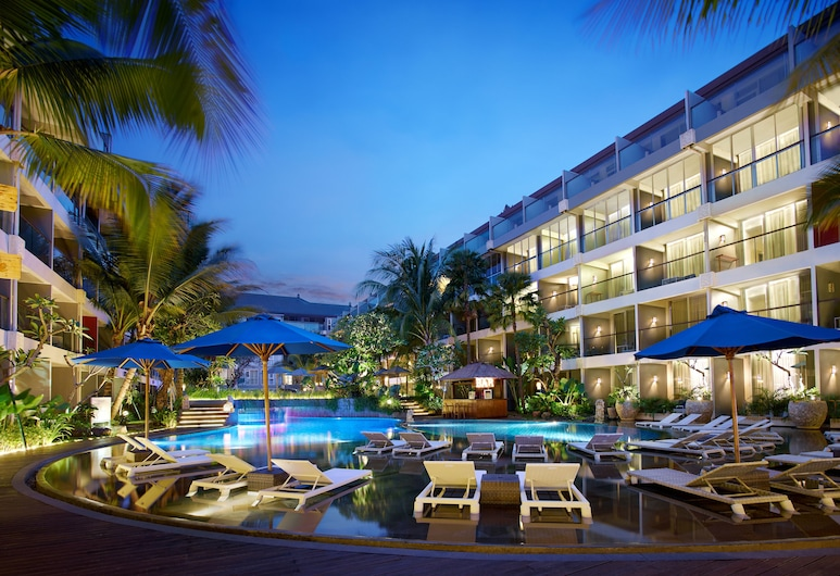 Ramada Encore by Wyndham Seminyak Bali, Seminyak, Honeymoon Room, 1 Double Bed, Pool View, Guest Room View