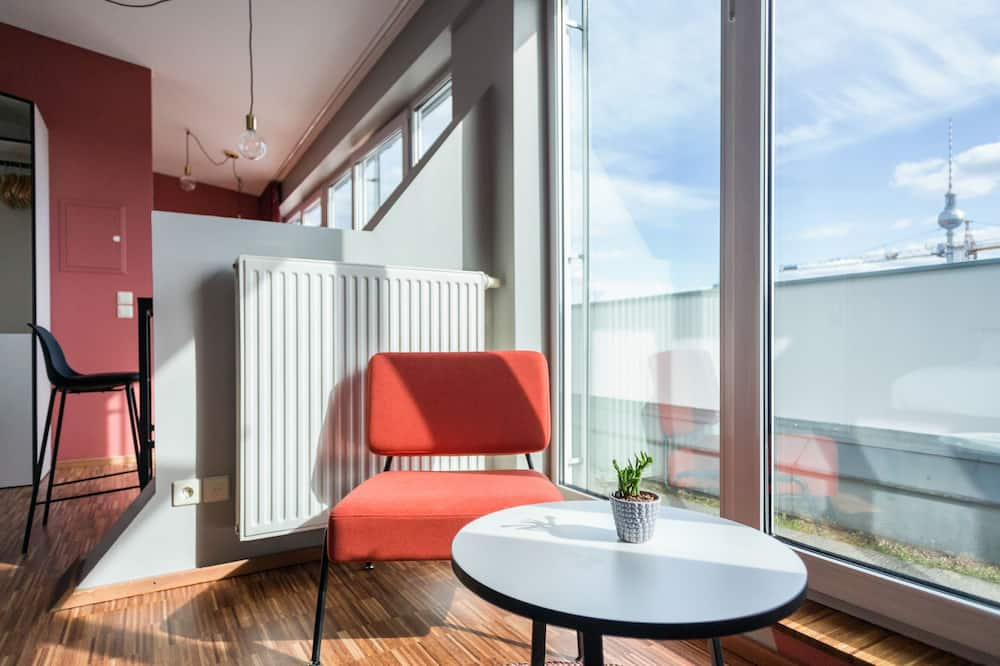 Apartemen, dapur (private bathroom) - Balkon