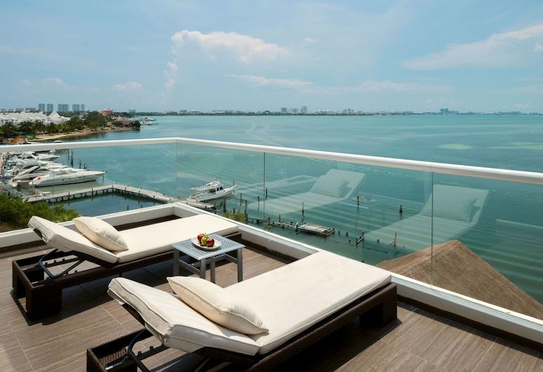 Real Inn Cancun, Cancún, Suite junior, vista a la laguna, Habitación