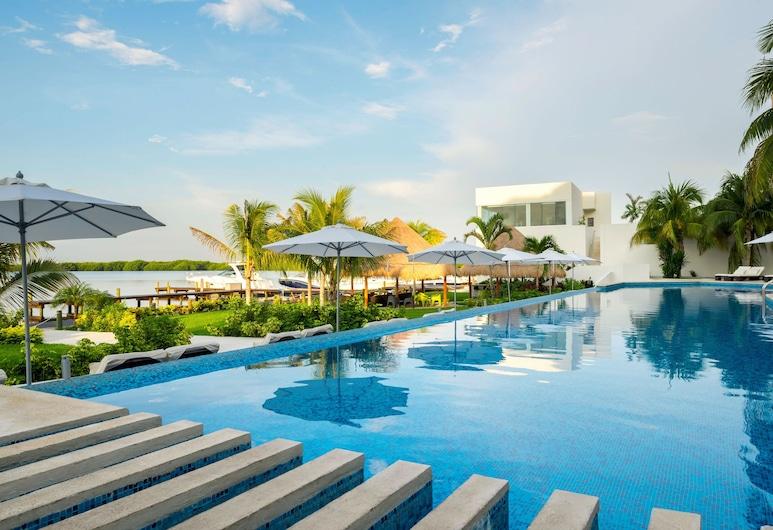 Real Inn Cancun, Cancún, Piscina Exterior