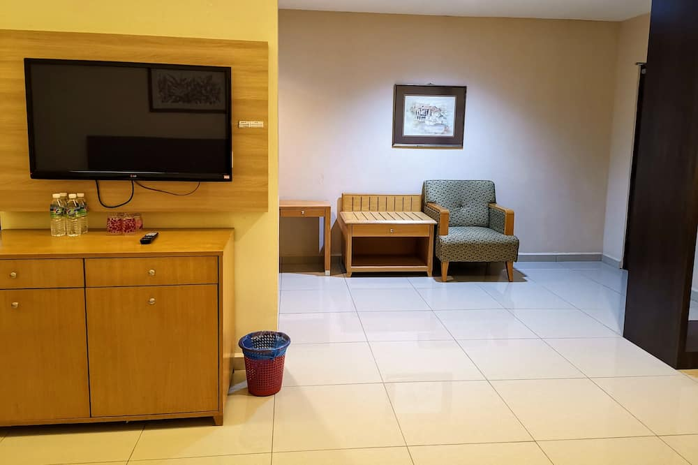 Deluxe Double King Room - Living Area