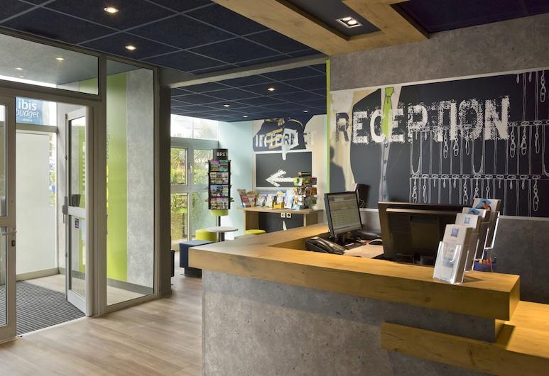 Hôtel Ibis Budget Saint Malo Centre, Saint-Malo, Reception