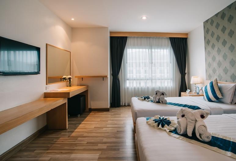 iCheck inn Central Patong, Patong, Superior-huone, Näköala huoneesta