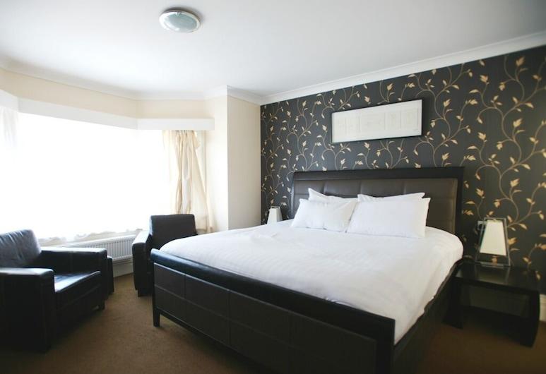 Ashley Victoria Hotel, Blackpool, Superior suite, en-suite badkamer, Kamer
