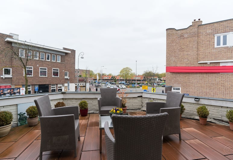 Gentiana Apartment, Amsterdam, Leilighet, 2 soverom, terrasse, utsikt mot byen, Terrasse/veranda