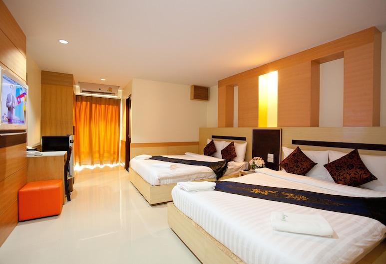 Amnauysuk Hotel, Khon Kaen, Familierom, Gjesterom