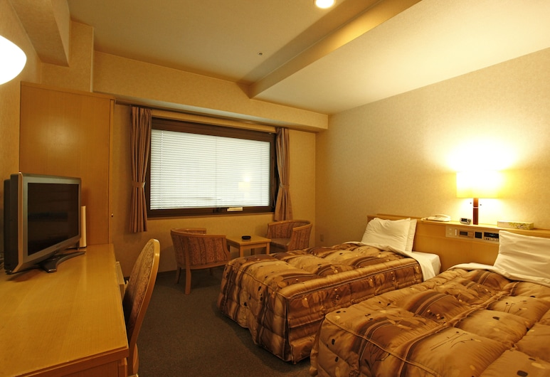 Riverside Hotel Kumamoto, Kumamoto, Twin Room, 2 Guests Use, Non Smoking [No parking available after April 1, 2019], Guest Room