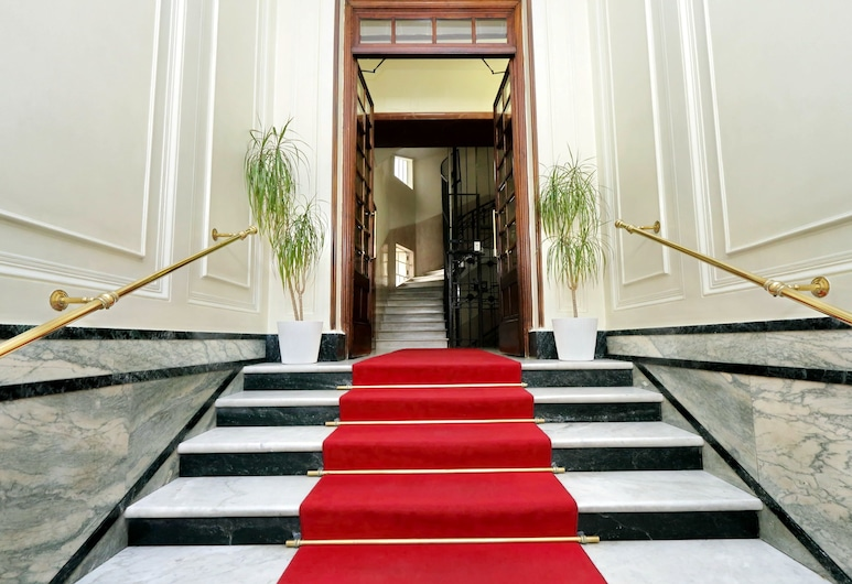Cassiodoro 19, Roma, Ingresso hotel
