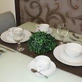 豪華開放式客房 - 客房餐飲服務