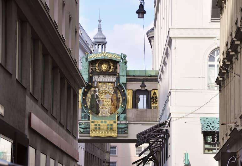 City Pension, Wien, Blick vom Hotel