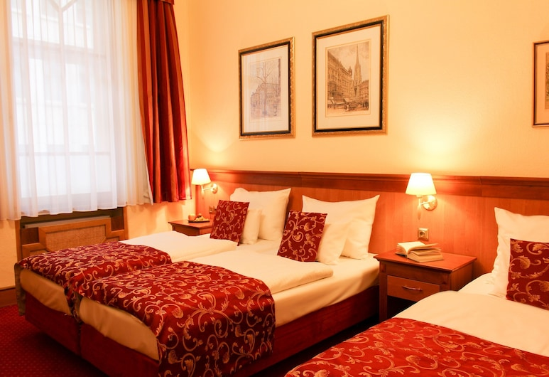 City Pension, Vienna, Superior Double Room, Guest Room